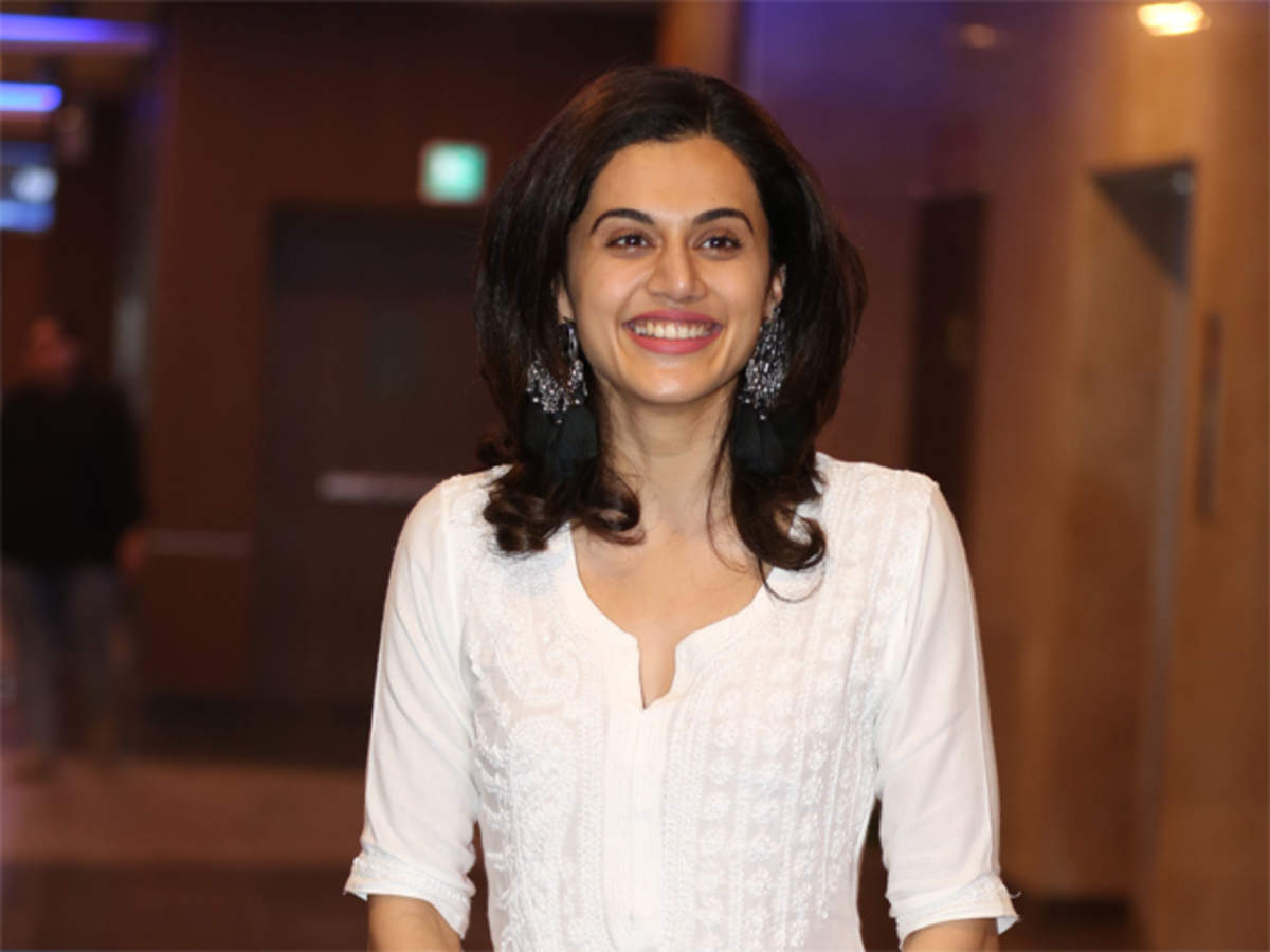 Tapsee Pannu Excited To Get Into Roles