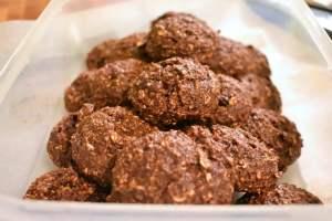 Biscuits déjeuner choco-banane