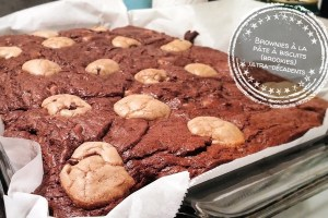 Brownies à la pâte à biscuits (brookies) ultra-décadents