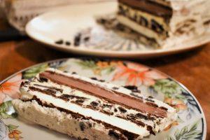 Gâteau à la crème glacée express