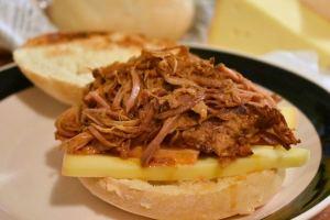 Porc effiloché BBQ à l'érable