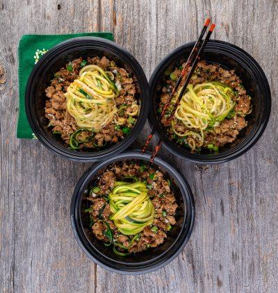 Zoodles chinoises aux 5 épices