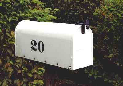 boîte aux lettres adresse