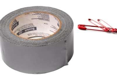 duct tape épingles