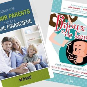 combo livres nouveaux parents