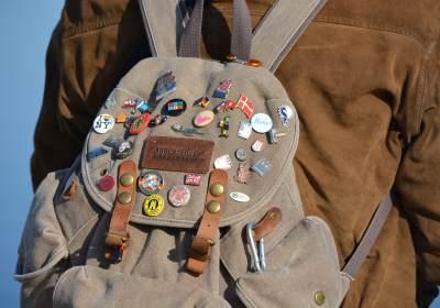 sac à dos auberge de jeunesse