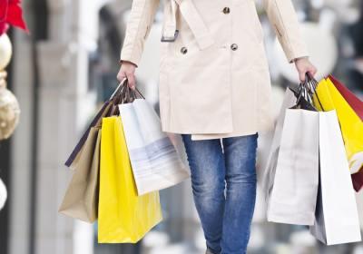 shopping temps des Fêtes