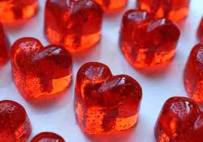 sucre d'orge coeur