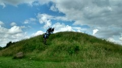 The burial mound of the Egtved Girl