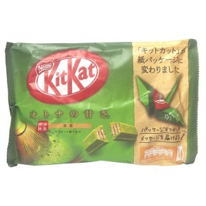 Kit Kat - Green Tea - Mini - 12 Piece Bag_newnew