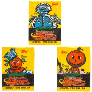 1985 Topps Return to Oz Stickers