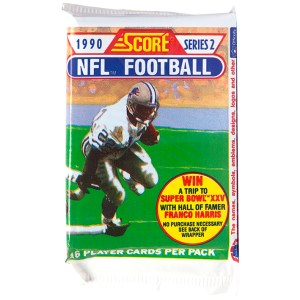 1990 Score - Series 2 NFL Football Player Cards