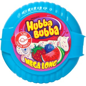 Hubba Bubba Mega Long - Triple Fruit Mix - Kosher