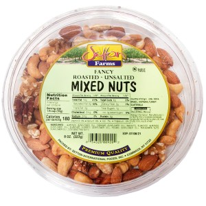 Setton Farm Fancy Mixed Nuts - Roasted - Unsalted