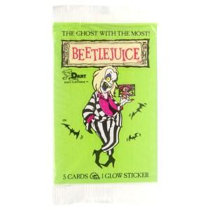 1990 Dart Beetlejuice Cards