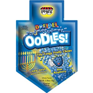Paskesz Oodles! Dreidel - Blue Raspberry