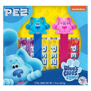 Pez - Nickelodeon Blue's Clues & You! Gift Set (Blue & Magenta)