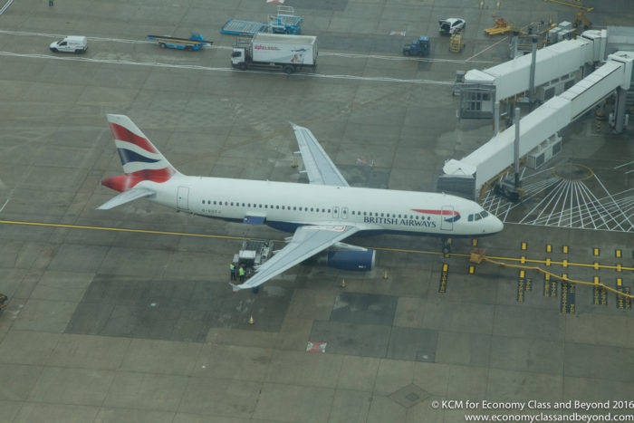 British Airways A320 from Heathrow Tower - Buy On Board from Wednesday