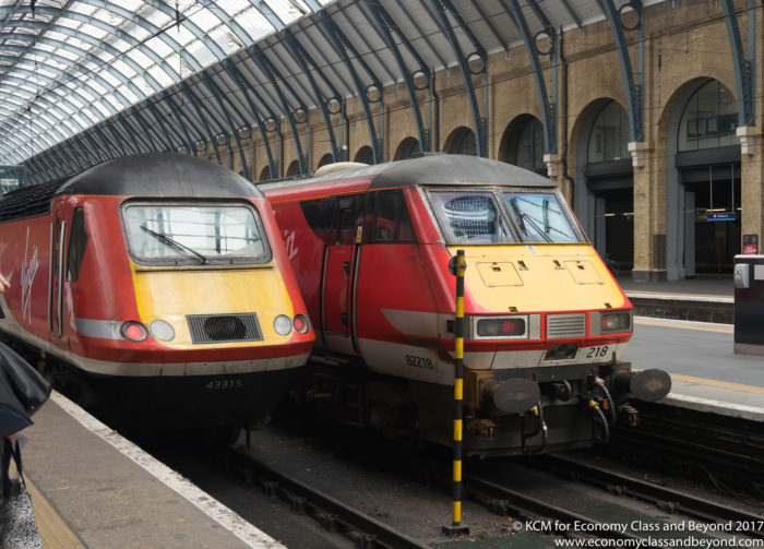 Virgin Trains East Coast Intercity 125 and Intercity 225 trainsets - Image, Economy Class and Beyond