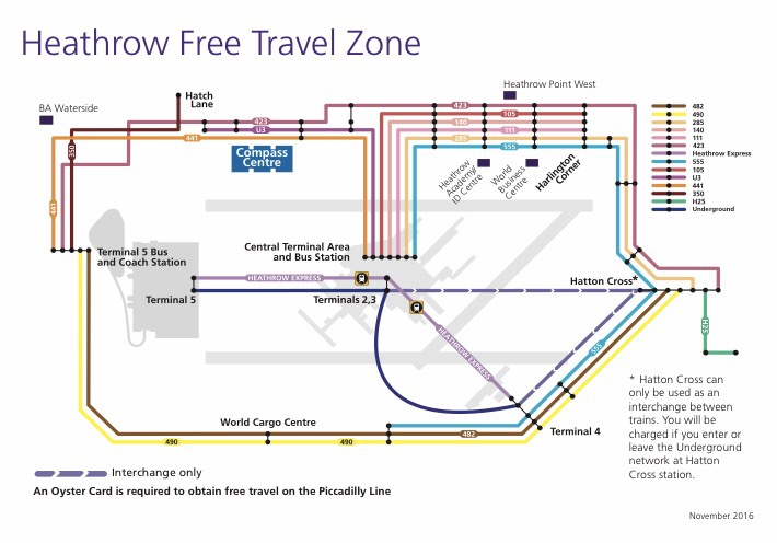 Dont forget the free travel zone at Heathrow Economy Class Beyond