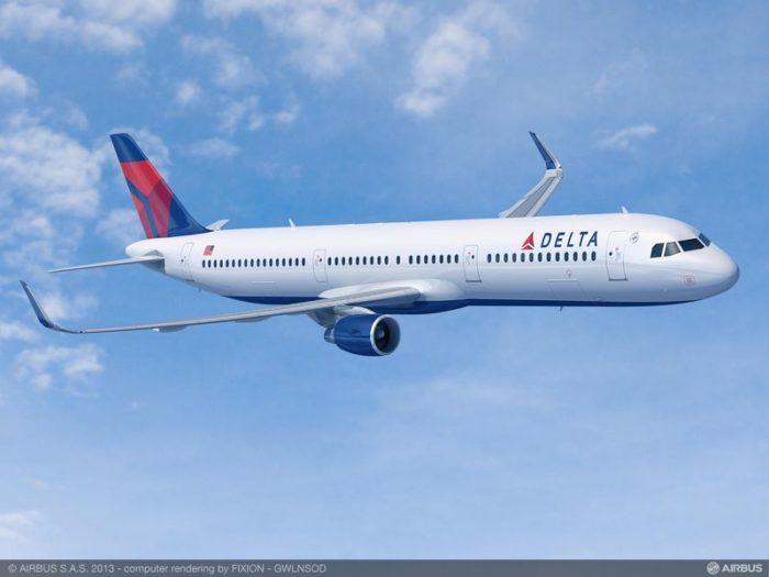 Delta Airbus A321 - Rendering, Airbus