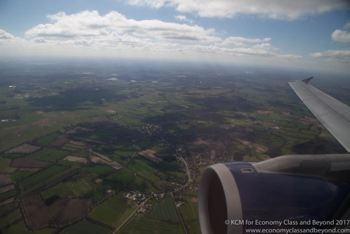 BA962 London Heathrow to Hamburg in Club Europe