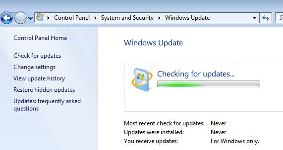 Update your computer