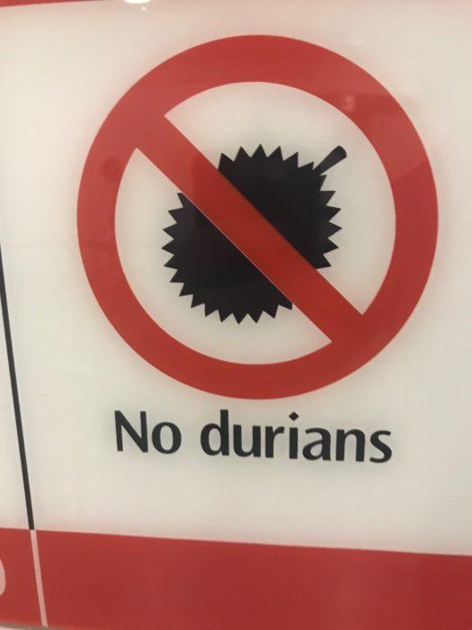 Break - NO DURIANS