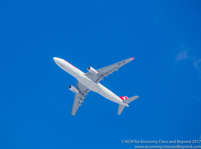 Swiss Airbus A330 - Image, Economy Class and Beyond