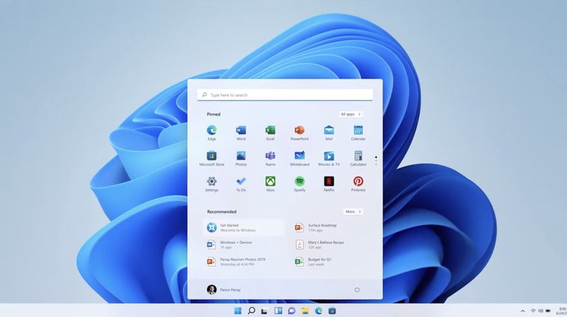 Microsoft announces Windows 11, with a new design, Start menu, and more