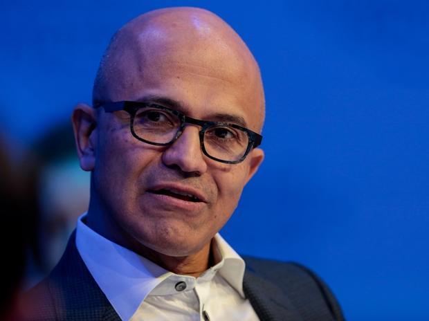 Microsoft names CEO Satya Nadella as tech giant's new Chairman