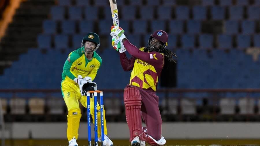 Chris Gayle's onslaught gives West Indies series win