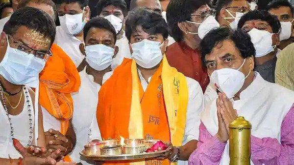 Jyotiraditya Scindia arrives in Delhi amid cabinet expansion buzz