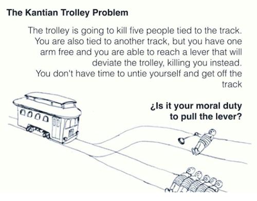 Trolley Problem, Kantian