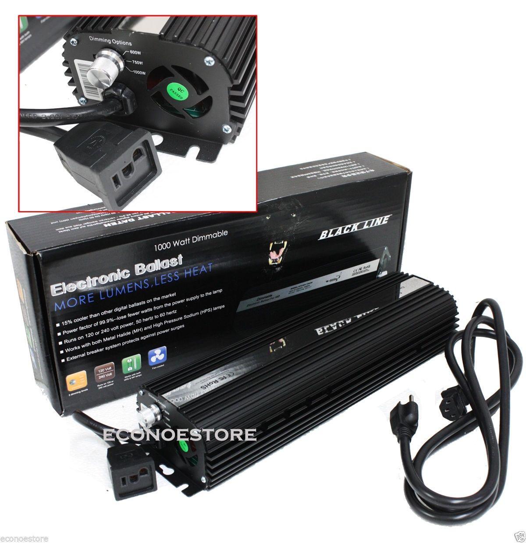 hight resolution of lot two 1000w mh hps hydroponic digital ballast 1000 750 600 watt 120v 220v hid econosuperstore