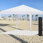 Easy Pop Up Instant Canopy Party Event Shelter Beach Tent 10 X10 White Ez Setup Econosuperstore