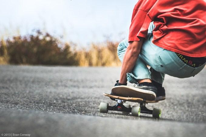 ©EVAN CONWAY - Arbor Skateboards Downhill