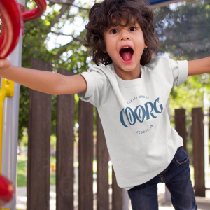 Kids round neck t-shirt