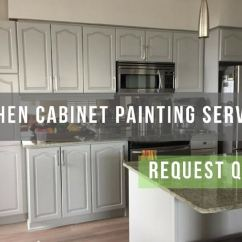 Kitchen Cabnet Aid Mixer Colors Painting Cabinets Is A Smart Alternative To Replacement Cabinet And Refinishing