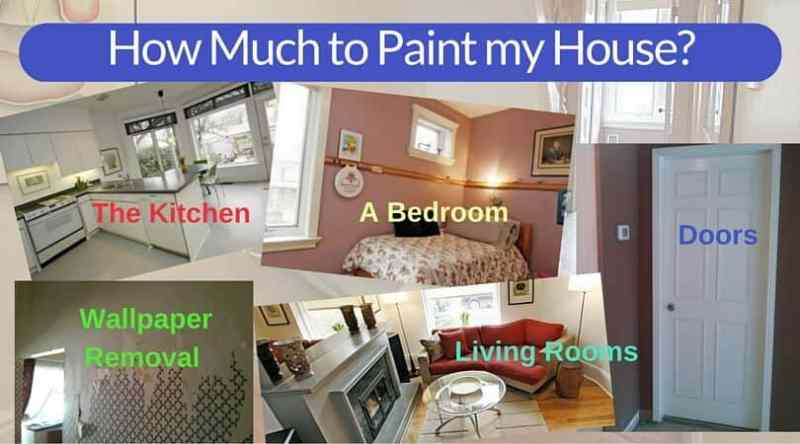 Cost to paint interior of 2000 sq ft home - Average cost to have interior house painted ...