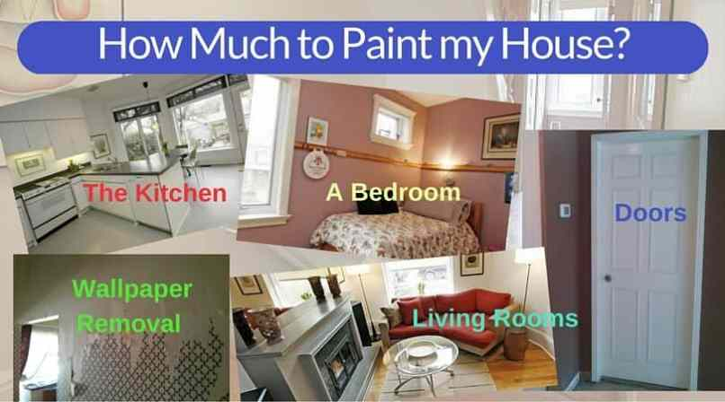 How many gallons of paint for a 2 bedroom apartment for How much to paint a two bedroom apartment