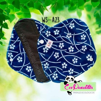 toalla femenina ecológica alva baby ws-a23