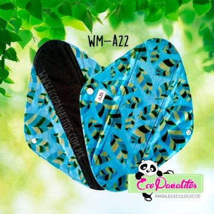 toalla femenina ecológica alva wm-a22