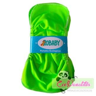 paquete de 10 liners verde robaby