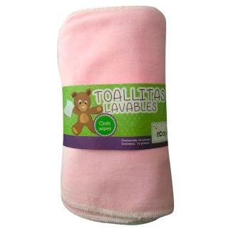 toallitas lavables ecológicas niña ecopipo