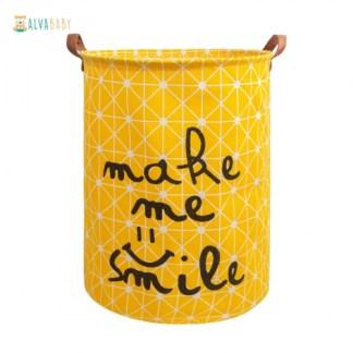 cesto para pañales ecológicos alva baby sn-y01