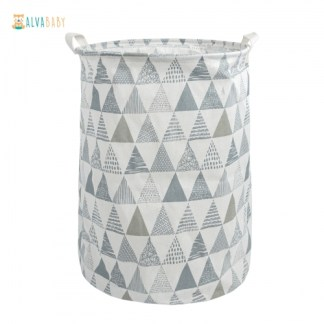 cesta para pañales ecológicos sn-y03 alva baby
