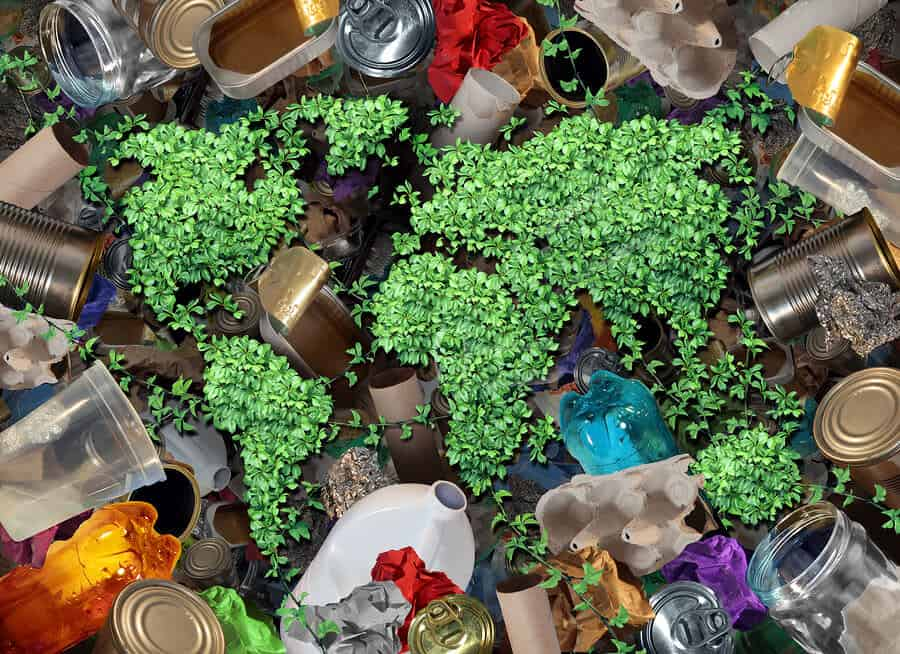 Recycle Trash And The Environment