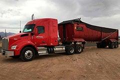 Bulk Materials Transportation Truck