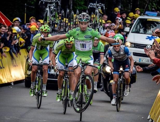 Peter Sagan - meilleur sprinter du Tour de France 2016